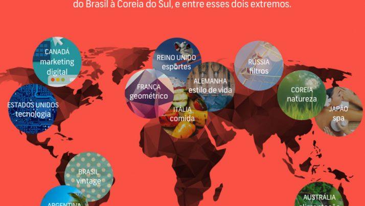 Infográfico Shutterstock: conheça as tendências criativas para 2015